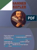 Johannes Kepler Diapositiva