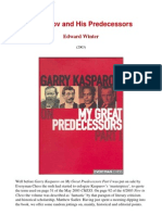 Edward Winter - Kasparov and His Predecessors