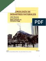 Epidemiologia de Desastres Naturales