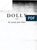 Faurè Gabriel - Dolly suite for piano solo (Alfred CORTOT)