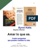 Byron Katie - Amar Lo Que Es - Revisado 17-8-2007