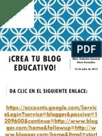Tutotial Blog Actualizado