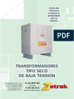 Transformador Seco Zetrak