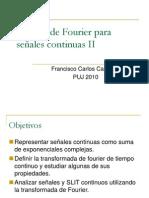Analisis de Fourier Continuo II