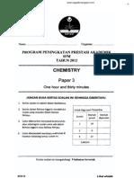 2012 PSPM Kedah Kimia 3 w Ans