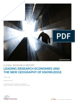GLOBAL RESEARCH REPORT - Leading Research Economies and the New Geography of Knowledge