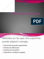 Doble Capa Electrica