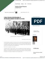 UMA VELHA NOVIDADE_ O INTEGRALISMO NO SÉCULO XXI