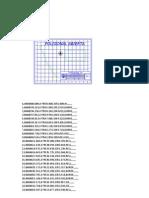 Estacion Total.-poligonal Abiierta Datos