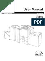 Di850 Manual