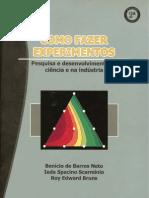 Como Fazer Experimentos 2aEd Barros Scarminio Bruns OCR