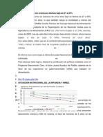 Desnutricion en Bolivia