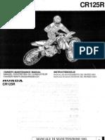[eBook Ita] Manuale Officina Honda Cre Cr 125 r Cr125 Cr125r 2004 Ocr by m@Tley