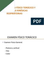 Examen Físico Torácico