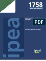 IPEA 1758 - AMARANTE, José Carlos Albano do - A Base Industrial de Defesa Brasileira
