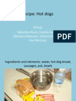 Our Food - Hot Dogs