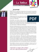 La Relève Brétigny - Un projet partagé - juillet 2013