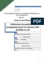 PFE Calibration modèle de propagation GSM-3G-LTE