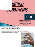 Cutting Instruments