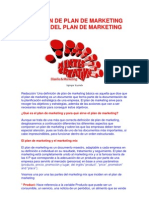 DEFINICIÓN DE PLAN DE MARKETING Y PARTES DEL PLAN DE MARKETING