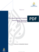 The Libyan National Transitional Council
