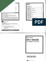 Zatonyi, M. Arte y Creacion (Cap 1)
