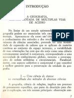 Introdução - Os Metodos da Geografia - Pierre George