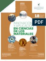 Afiche Seminario Innovacion Materiales