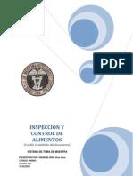 Practica nº 02  -  INSPECCION Y CONTROL DE ALIMENTOS
