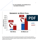 01crecimiento Deficit Fiscal 2013