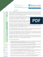 04 Ecolatina Informe Mayo 2013