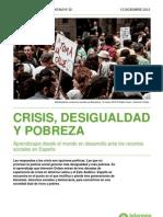 Informe IO Crisis Desigualdad y Pobreza 300113 0