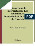 Bonorino Raul, El_imperio_de_la_interpretación, los fundamentos hermenéuticos de la teoría de Dworkin