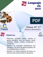 Clase 17 Lenguaje Cpech - Genero Dramatico (OliverClases)