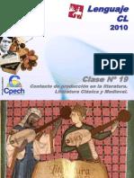 Clase 19 Lenguaje Cpech - Contexto Produccion Literaria (OliverClases)