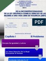 Defensa Final Ley de La Mujer Abril 2013[1]