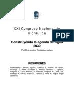 Resumenes+Xxi+Concreso+de+Hidraulica