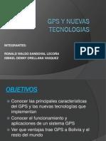 Gps y Nuevas Tecnologias