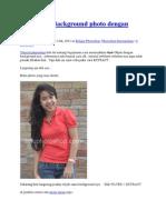 Mengubah Background Photo Dengan Extract