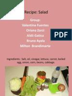 Our Food - Salad