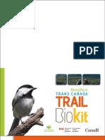 Trans Canada Trail Bio Kit Letter