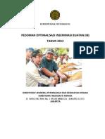 Pedoman Budidaya Optimalisasi IB