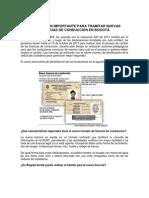 Informacion Licencias Conduccion
