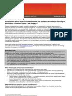 2013 FBEL Special Consideration Form 2