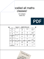 i cancelled all maths classes aamt 3 pdf
