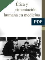 Criterios Eticos en Experimentacion Humana