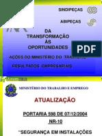 Apresentação_NR 10 - 2009_SINDIPEÇAS