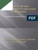 KURIKULUM PTV & KHSR