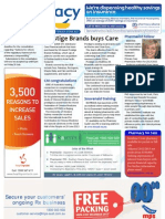 Pharmacy Daily for Fri 12 Jul 2013 - Care Pharmaceuticals deal, Bensoussan honoured, antibiotic alert, Self Care and much more