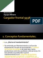 Cargador Frontal 993K